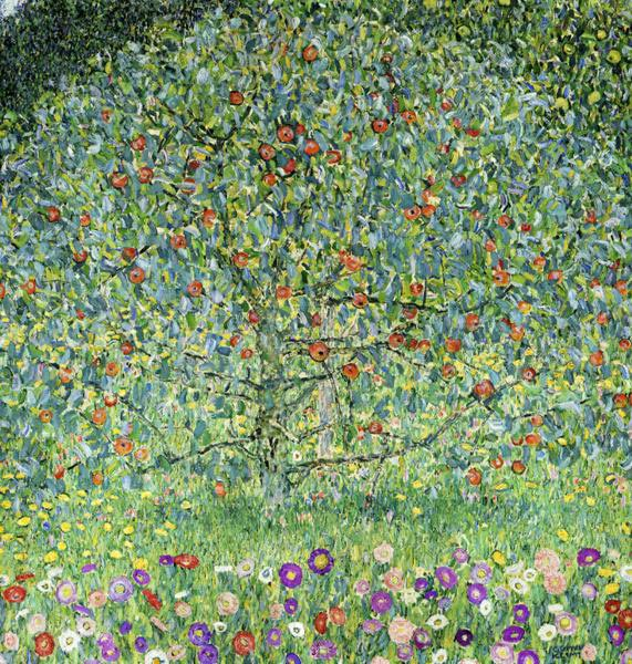 Густав Климт (Gustav Klimt). Яблоня (Apple Tree I)