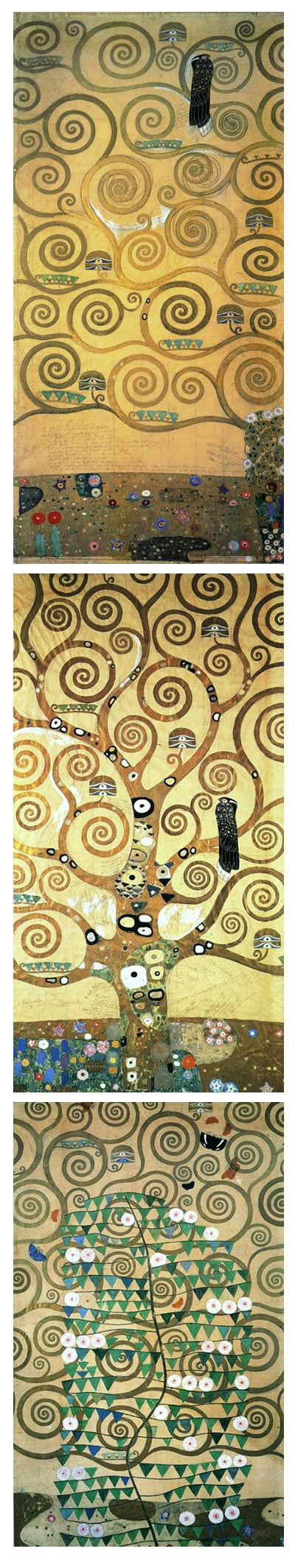 Густав Климт (Gustav Klimt). Древо жизни (The Tree of Life)