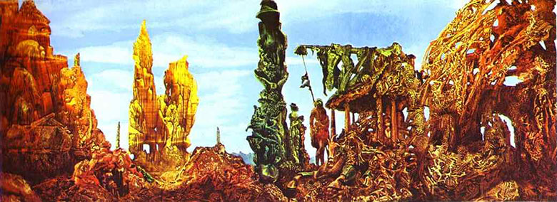 Макс Эрнст (Max Ernst). Европа после дождя II (Europe after the Rain II)