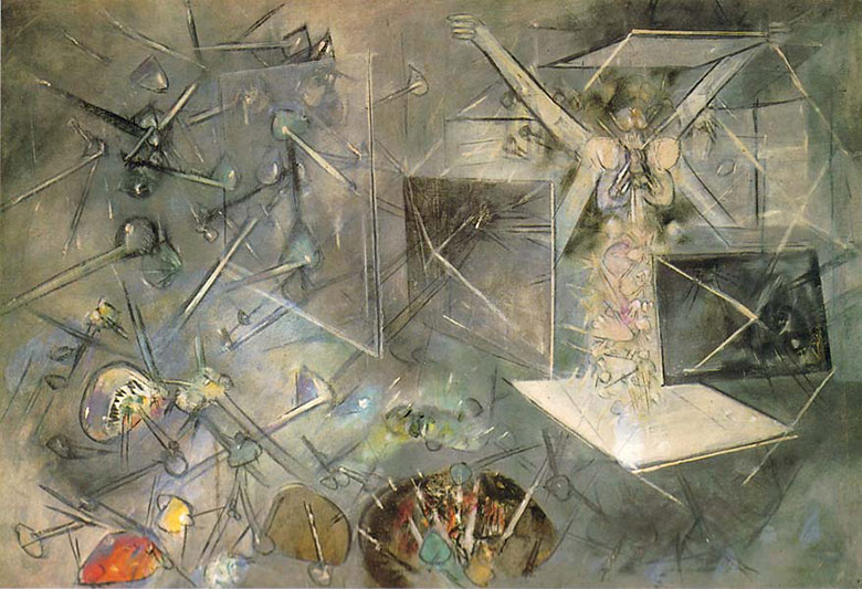 Роберто Матта (Roberto Matta). Конец света (The And of the World)