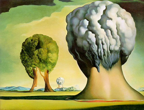 Сальвадор Дали (Salvador Dali). Три Сфинкса острова Бикини (The Three Sphinxes of Bikini)